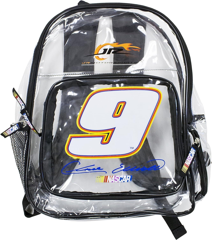Chase Elliot #9 NASCAR Clear Backpack