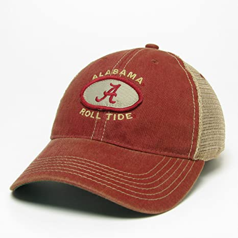 9781edc3ae5e5 Amazon.com   Legacy Alabama Crimson Tide Hat Adjustable Trucker Style    Sports   Outdoors