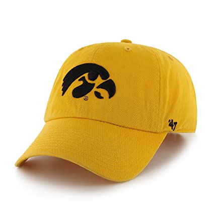 info for 016b6 f687b ... germany ncaa iowa hawkeyes clean up adjustable cap yellow gold one size  c8824 62b09