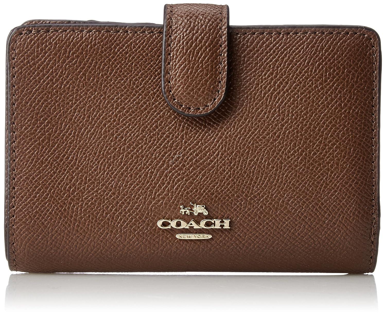 [コーチ] 二つ折り財布  COACH F11484 IMBLK [並行輸入品] B078W75YD4 ブラウン ブラウン