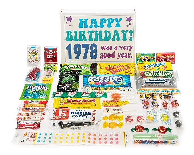 1978 39th Cumpleaños Caja de Regalo de Retro Nostálgico ...