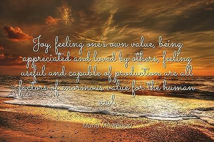 Amazon.com: Maria Montessori - Famous Quotes Laminated ...