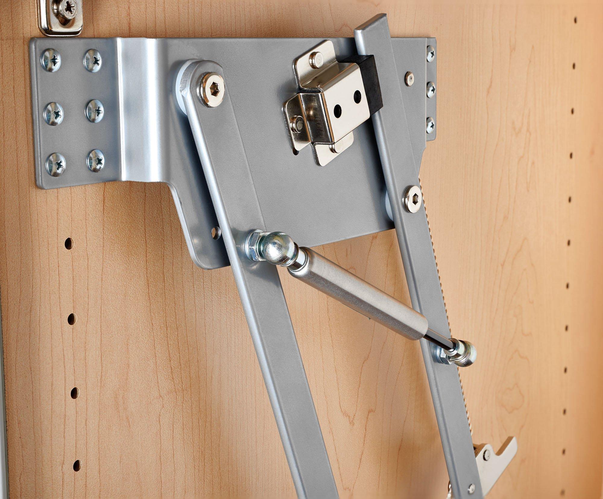 Rev-A-Shelf RAS-ML-HDSC Appliance Lift with Soft-Close Mechanism, Chrome by Rev-A-Shelf (Image #3)