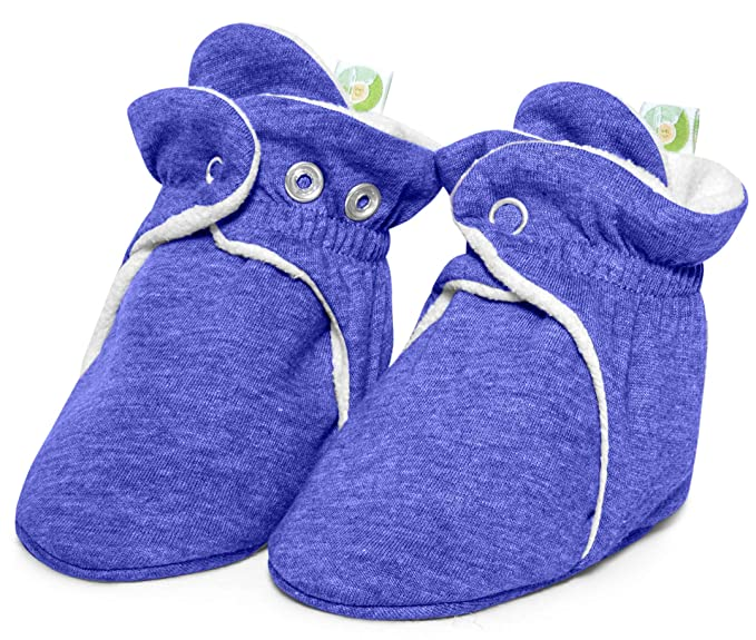 cbb10c90d Bum Chicoo Baby Boys Girls Booties,Cozy Fleece Booties,Booties for Baby  that Stays On.