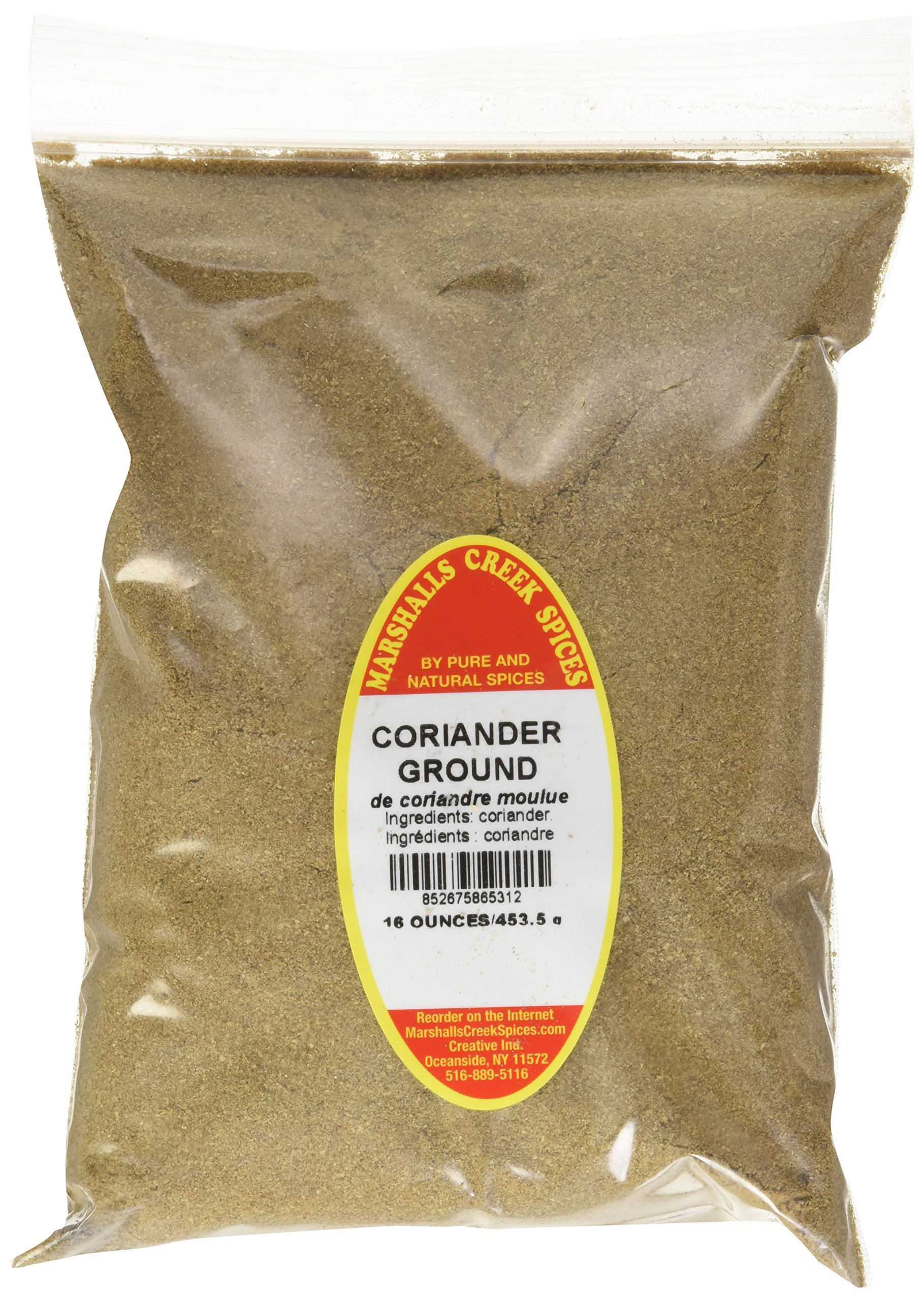 Marshalls Creek Spices Refill Pouch Coriander Ground Seasoning, XL, 16 Ounce
