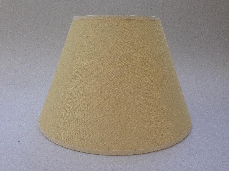 25,4 cm gelb Membran Baumwolle Stoff Lampenschirm Licht Lampe Tisch ...