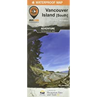 Vancouver Island SOUTH BC Waterproof Map: 1st Edition