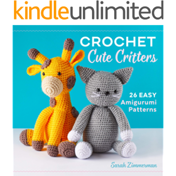 Sirdar Happy Chenille Crochet Amigurumi Toys Pattern Book 4 Little ...   600x600