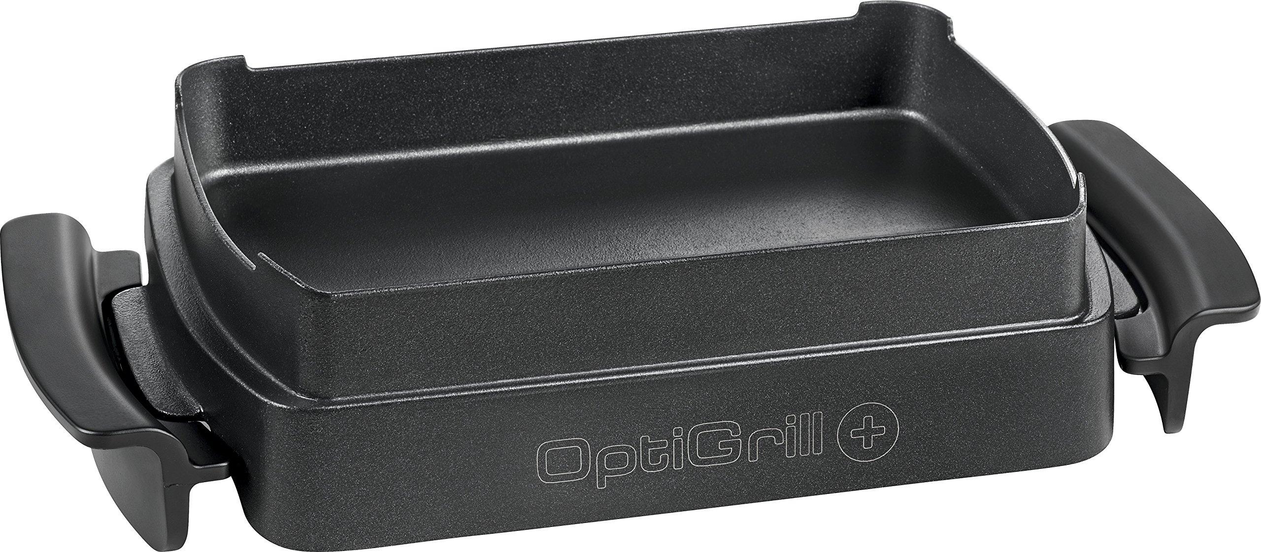 T-Fal XA722 Optigrill Oven Accessory for OptiGrill Plus GC712D, 4 servings, Black