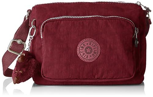 Womens Reth S Cross-Body Bag, Red (Crimson), 13.5x23x15.5 cm (B x H x T) Kipling