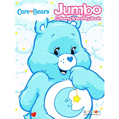 Care Bears Coloring and Activity Book (Assorted)- Assorted Care Bears Activity Book by American Greetings: Toys & Games