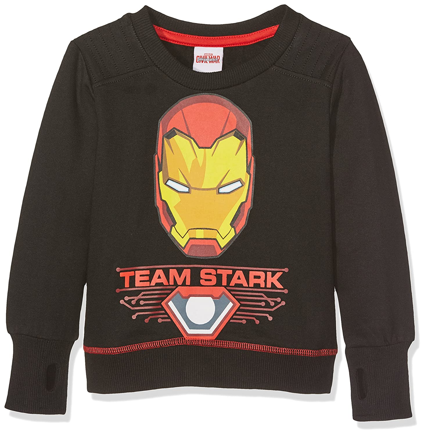 Marvel Boy's Iron Man-Team Stark Snow Bibs RFKCS713