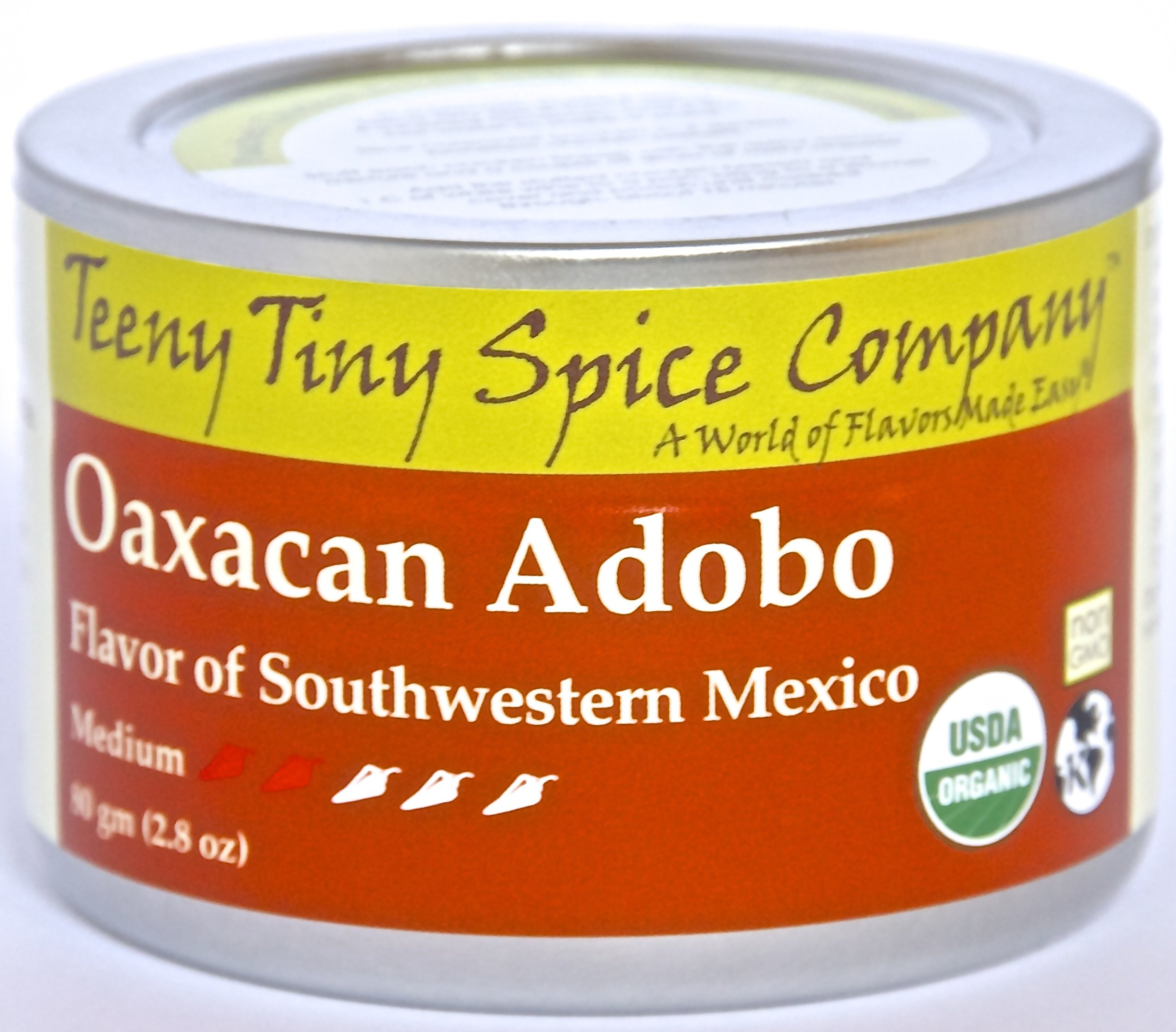 Teeny Tiny Spice Co. of Vermont Organic Oaxacan Adobo-- 2.8 oz