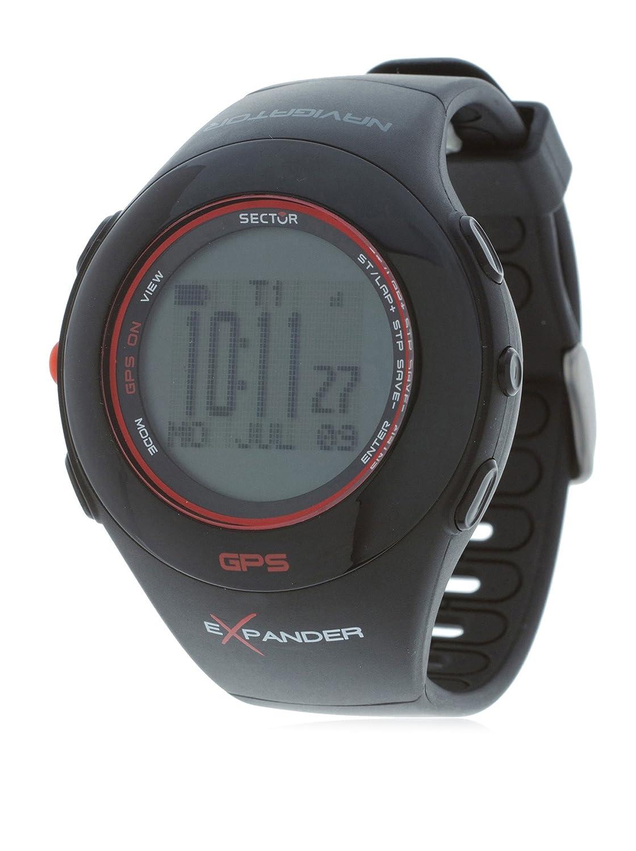 Sector Unisex-Armbanduhr Digital Quarz Kautschuk R3251188015