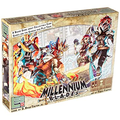 Level 99 Games Millennium Blades Board Game: Toys & Games