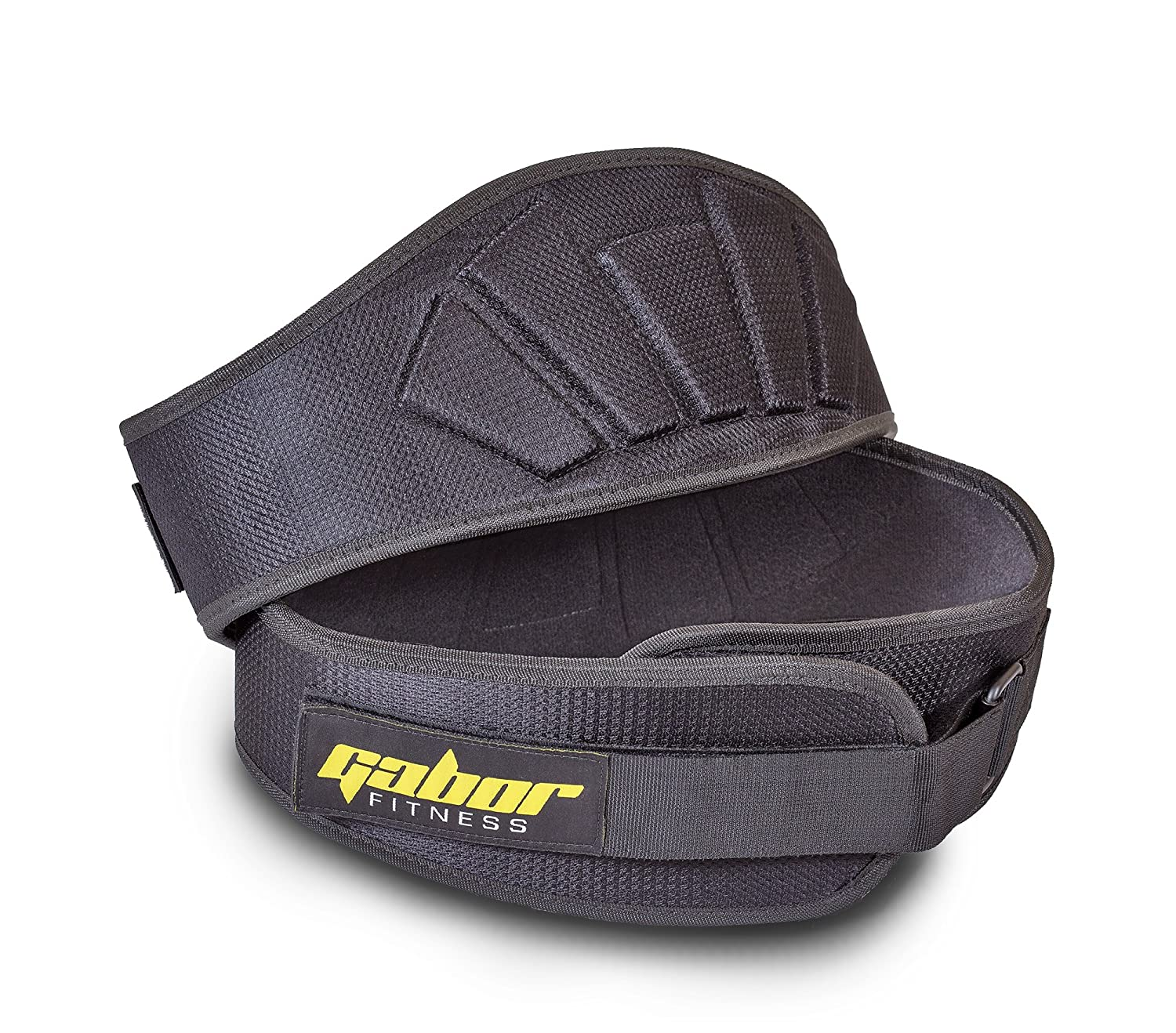 #4. Gabor Fitness Contoured Neoprene Back Support Weight Lifting Belt