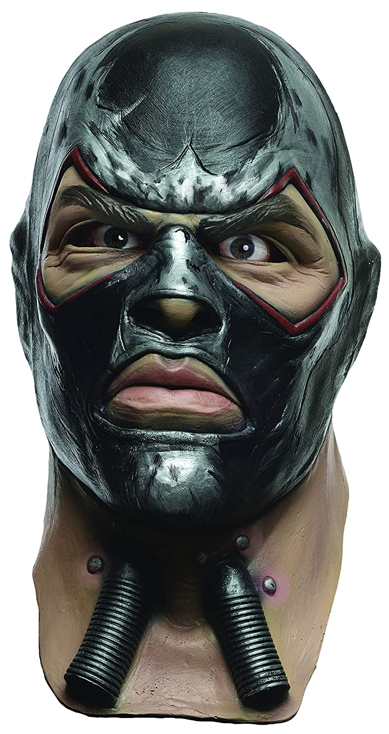 Amazon.com Rubieu0027s Menu0027s Arkham City Adult Deluxe Overhead Latex Bane Mask Multi One Size Clothing  sc 1 st  Amazon.com & Amazon.com: Rubieu0027s Menu0027s Arkham City Adult Deluxe Overhead Latex ...