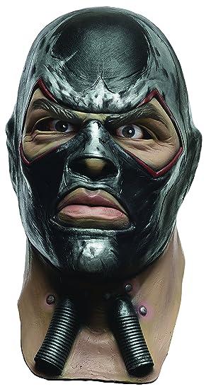 Rubieu0027s Menu0027s Arkham City Adult Deluxe Overhead Latex Bane Mask Multi ...  sc 1 st  Amazon.com & Amazon.com: Rubieu0027s Menu0027s Arkham City Adult Deluxe Overhead Latex ...