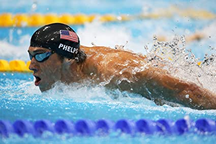 Michael Phelps USA Olympic Great Swimmer New POSTER
