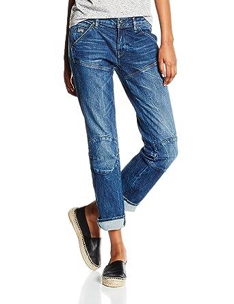 G-STAR RAW 5620 3D Cropped Mid Flare WMN, Jeans Femme, Blau (Medium ... fc5f4f08651d