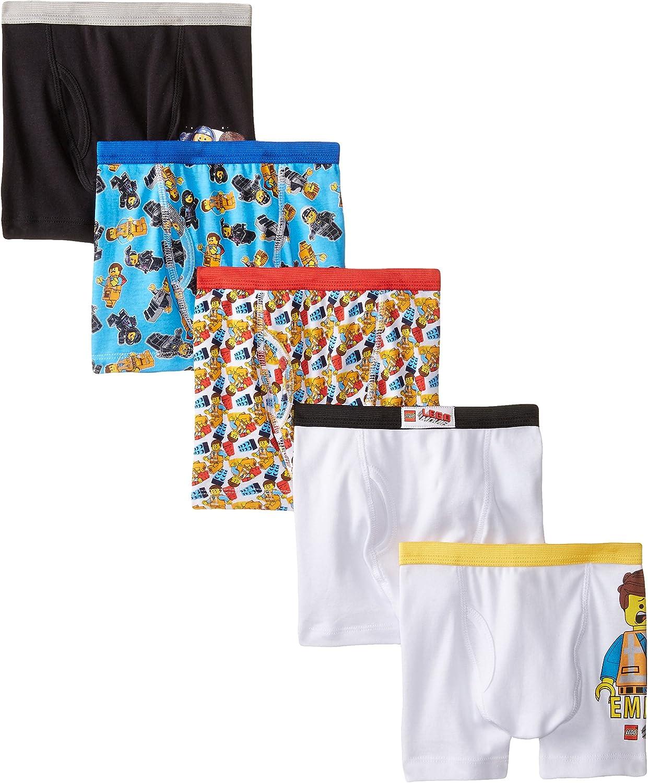 Lego Boys LEGO Movie 5 Pack Boxer Briefs