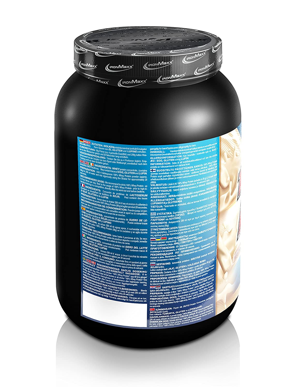 whey gold standard dosering