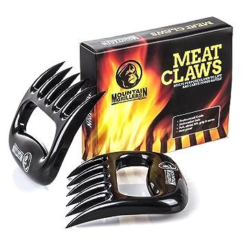 aons 2 set premium meat claws bbq pulled pork gabeln. Black Bedroom Furniture Sets. Home Design Ideas