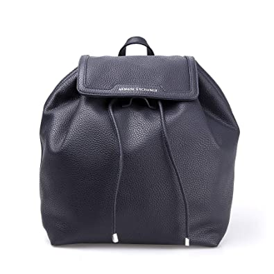 d0c435b678125 Armani Exchange Damen Denim Backpack Rucksack