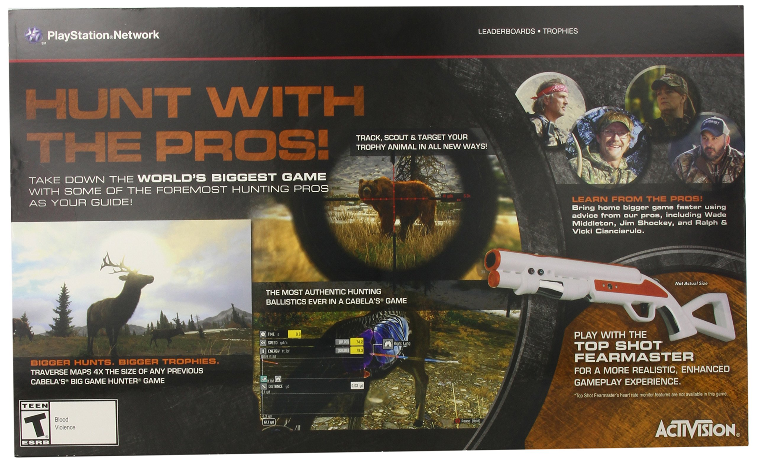 Cabela's: Big Game Hunter Pro Hunts with Gun - PlayStation 3 by Activision (Image #3)