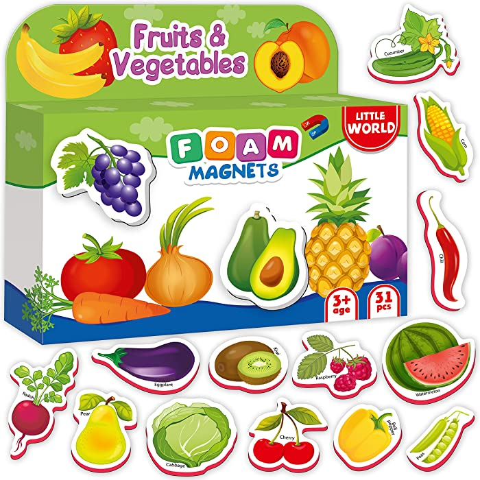Top 10 Refrigerator Magnets Vegetables And Fruit