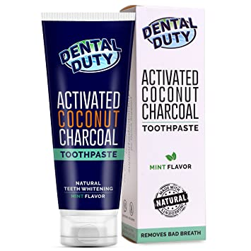 Best Whitening Toothpaste >> Amazon Com Charcoal Teeth Whitening Toothpaste Made In Usa