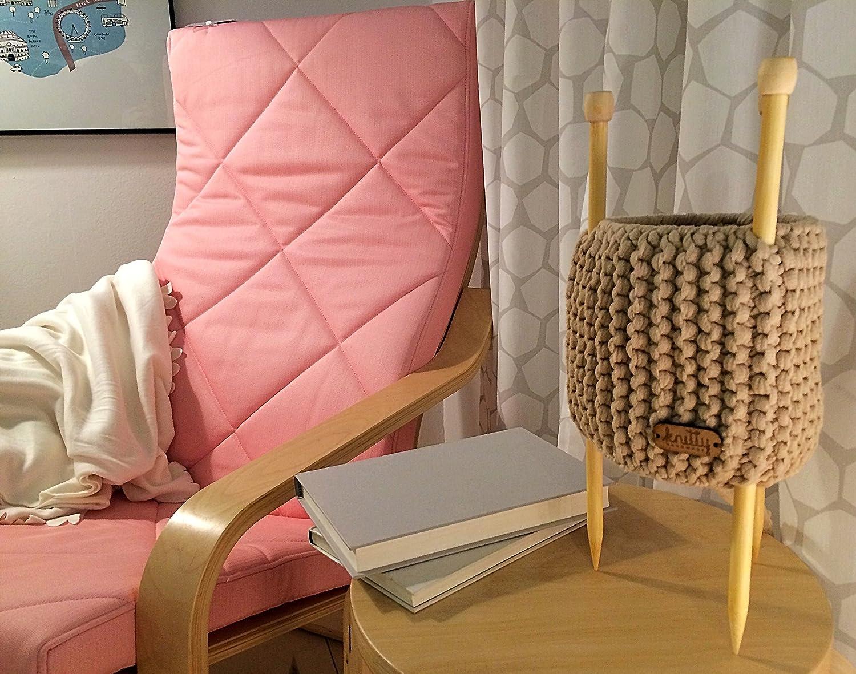 Lámpara de mesa tejida y diseñada en Valencia - Knitty: Amazon.es: Handmade