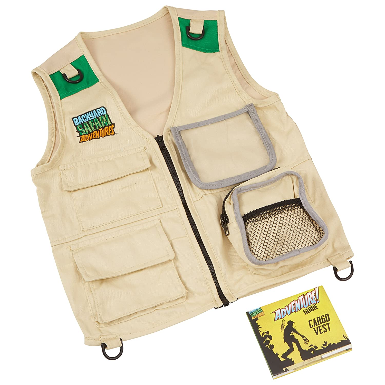 amazon com backyard safari cargo vest toys u0026 games