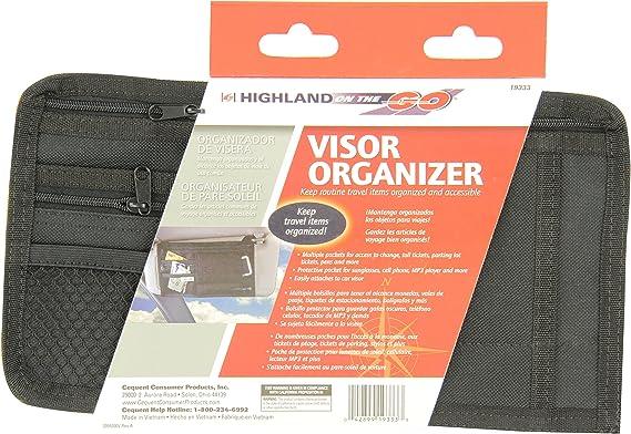 Highland 1933300 Sunglass Visor Organizer