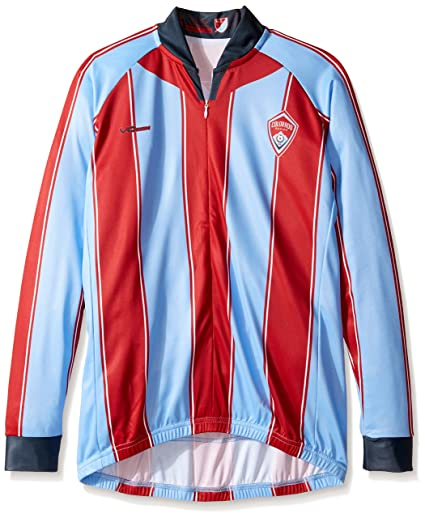3e39d7a83 Amazon.com   MLS Women s Original Striped Long Sleeve Cycling Jersey ...