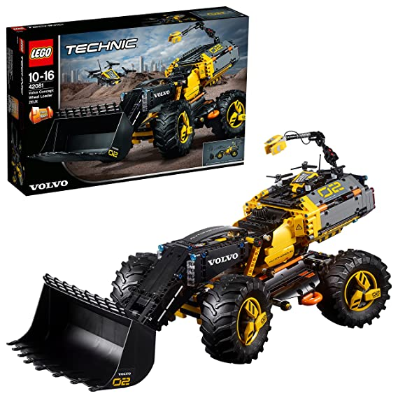Lego 42081 Technic Volvo Concept Wheel Loader Zeux Toy, 2 In 1 Model,  Construction Toys For Kids by Lego