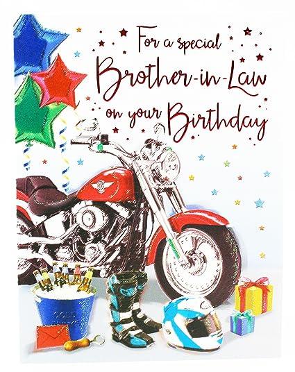 Tarjeta de felicitación de cumpleaños para hermano en ...