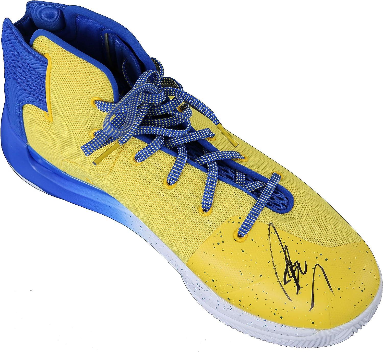 Blue Basketball Shoe Beckett COA