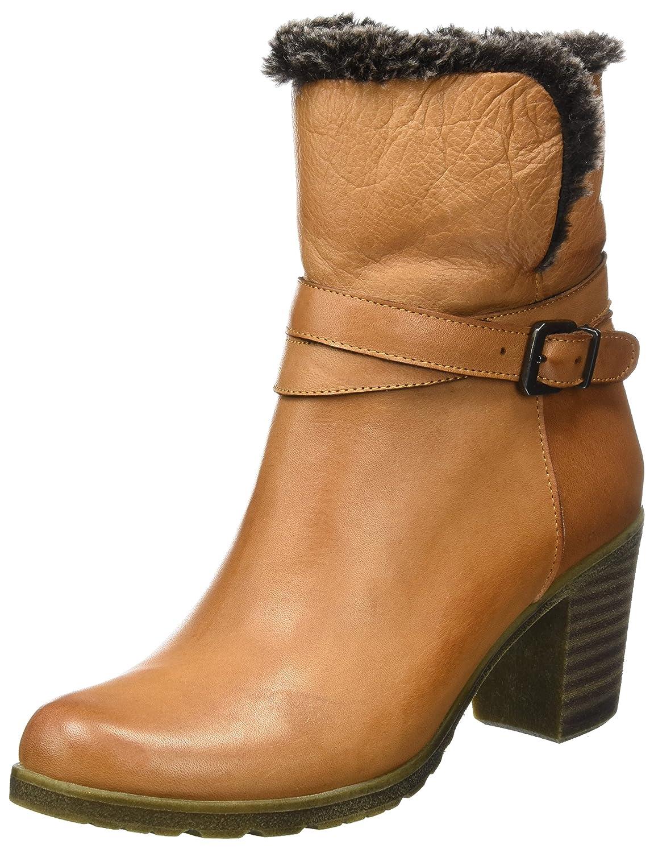 Andrea Conti 1674566, Botas para Mujer37 EU Marrón (Cognac 062)