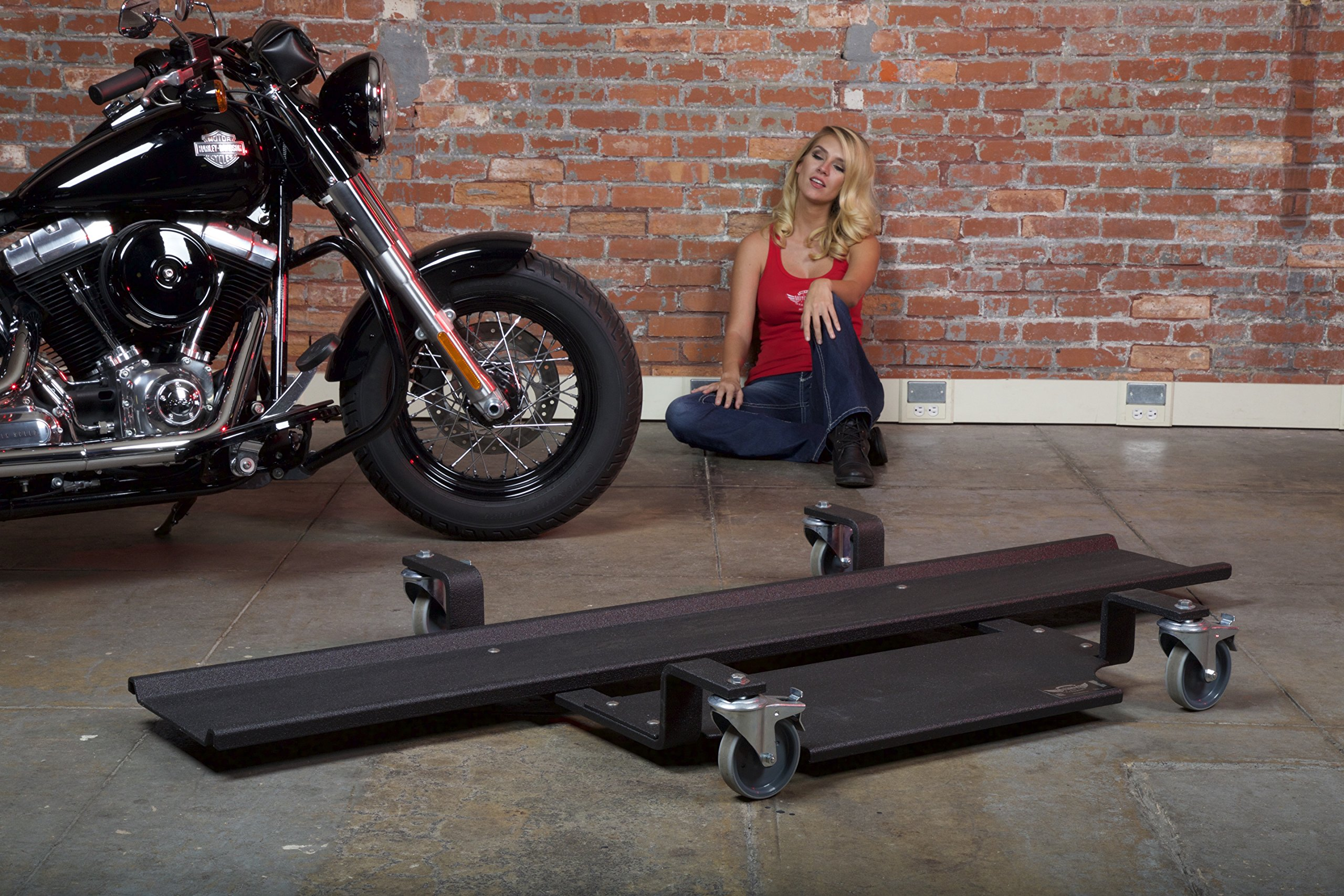 Motomover Premium Motorcycle Dolly - Made in the USA - Made for Big Bikes
