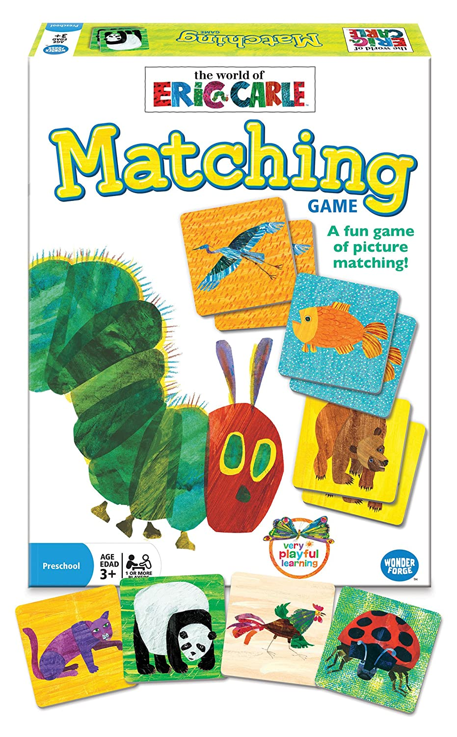 Amazon.com: Eric Carle Matching Game: Toys & Games