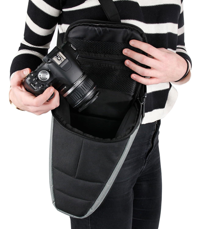 Hello Kitty DURAGADGET Borsa Grande per Fujifilm Instax 210 Maniglia Wide 300 Spazio per Accessori Piccoli Tracolla Alta qualit/à Mini 70