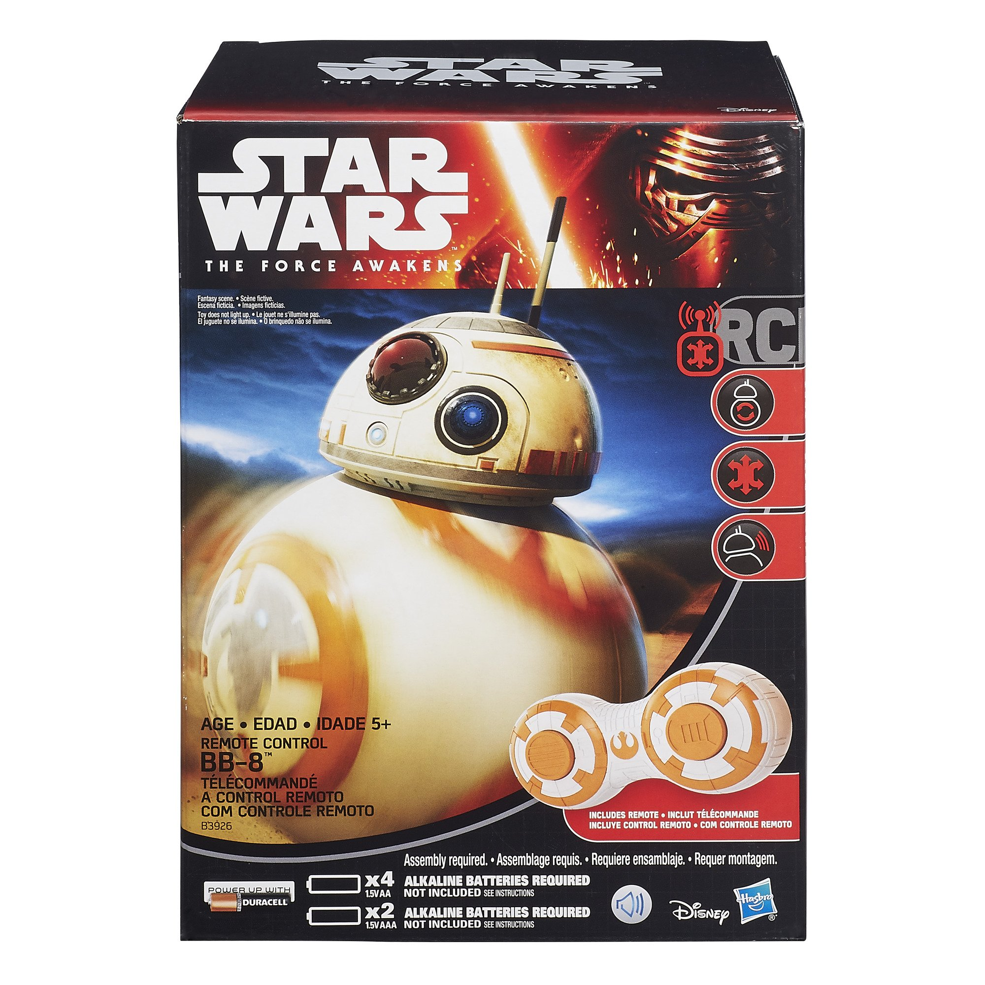 Star Wars The Force Awakens RC BB-8 by Star Wars (Image #2)