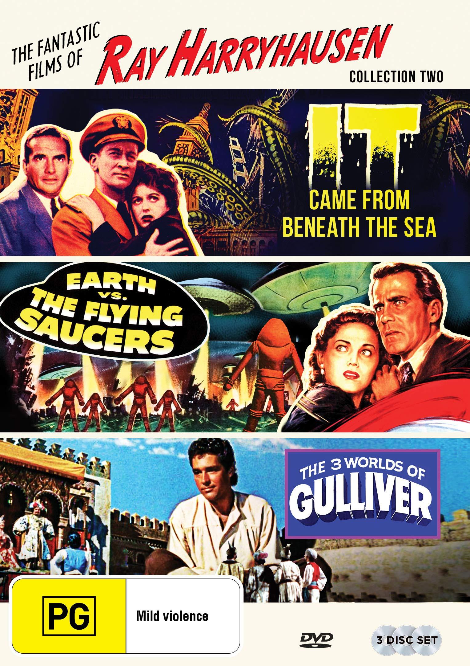 DVD : The Fantastic Films Of Ray Harryhausen Collection: Volume Two (Australia - Import, NTSC Region 0)
