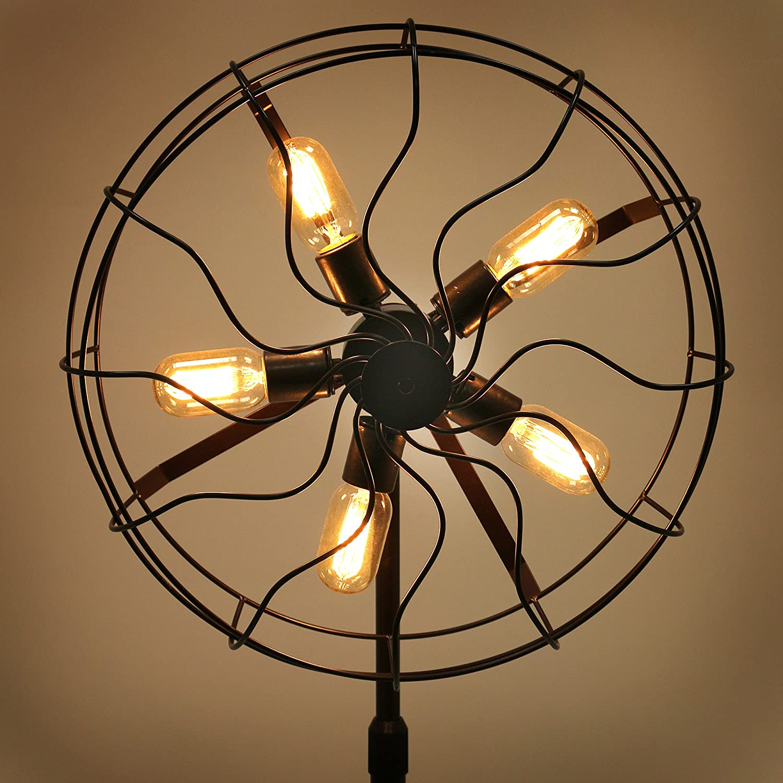Amazon.com: WOYBR LS-L-OSCFLR AN Metal, Electrical Ozzy Floor Lamp ...