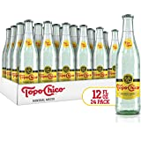 TOPO CHICO Mineral Water, 12 Fl Oz, Pack of 24