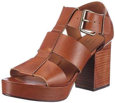 cc3563c9329 billi bi Copenhagen 4461085 Fashion Sandals Womens Brown Braun ...