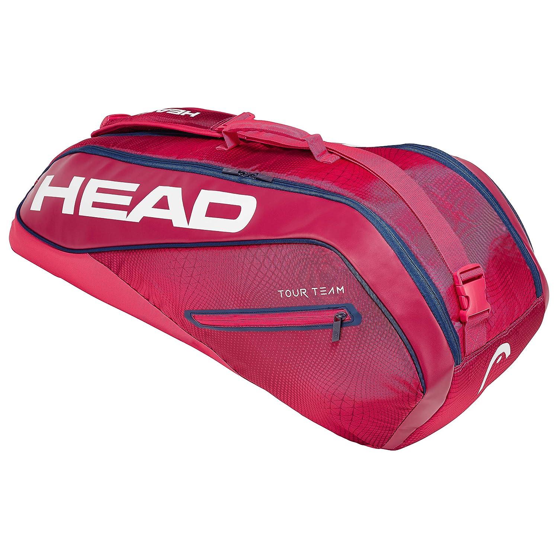 Red HEAD Tour Team Combi 6 Racquet Bag
