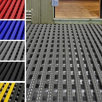 etm Tapis antidérapant caillebotis PVC | idéal Surface Humide ...