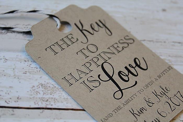Amazon Key To Love Wedding Favor Tags Wedding Favors Gift